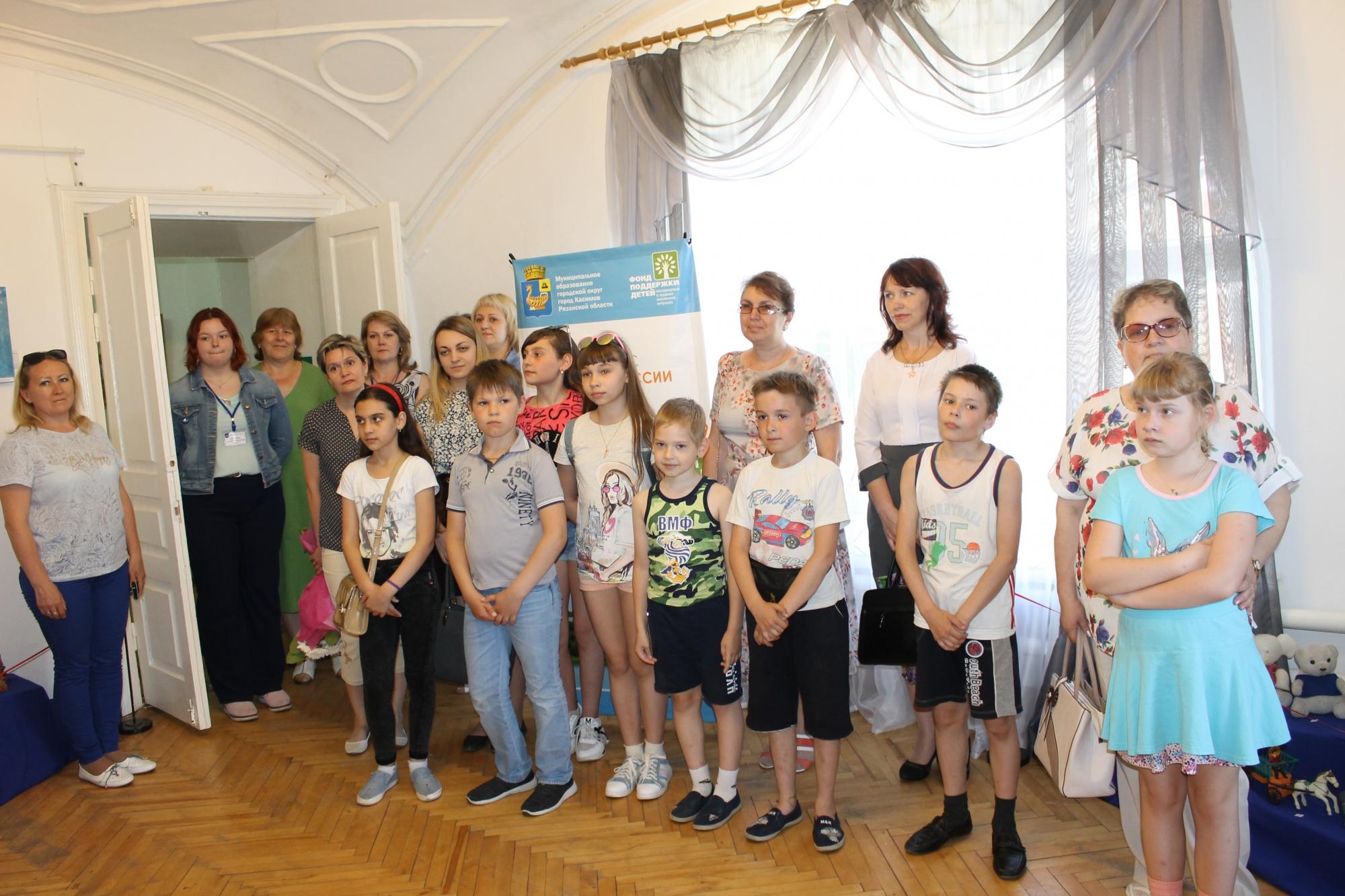 Открытие выставки «Берег детства»